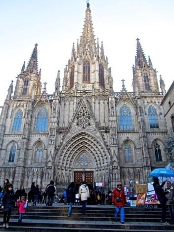 Cattedrale - Barcellona (Spagna)