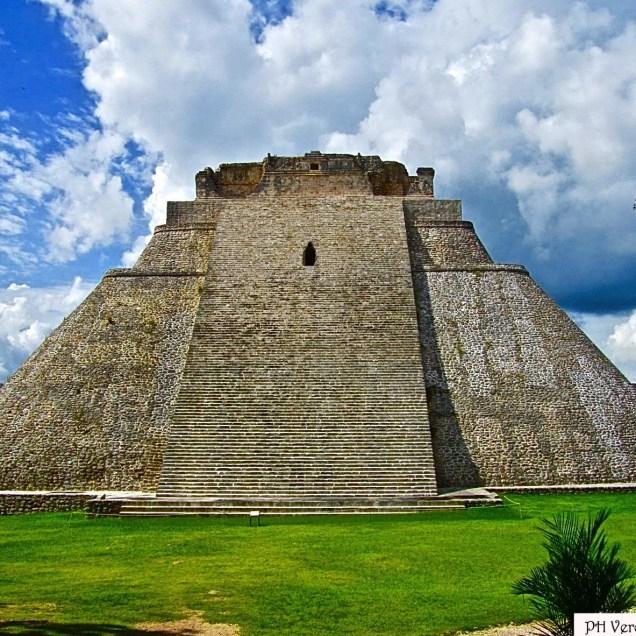 Piramide dell'Indovino, Sito Archeologico Uxmal - Messico
