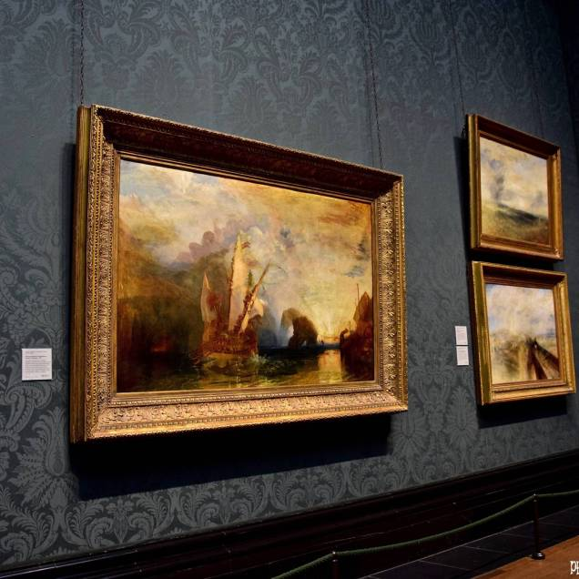 """La valorosa Téméraire"" di William Turner - National Gallery (Londra - Inghilterra)"