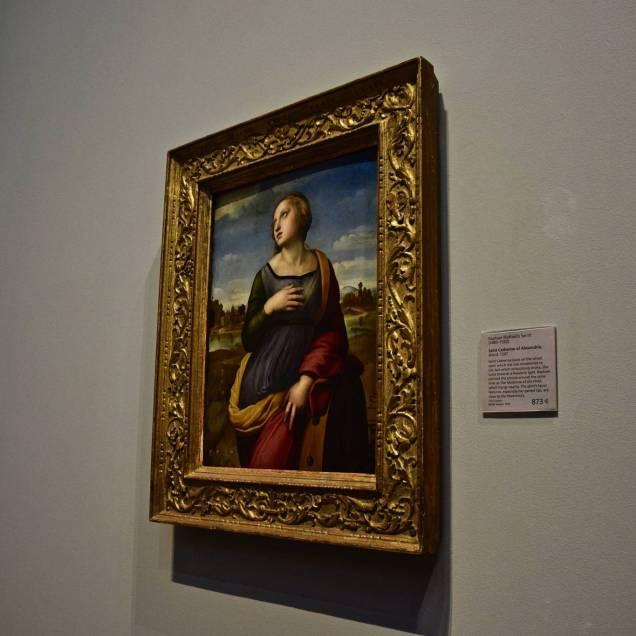 """Santa Caterina d'Alessandria"" di Raffaello - National Gallery (Londra - Inghilterra)"