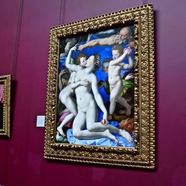 """Allegoria del Trionfo di Venere"" di Bronzino - National Gallery (Londra - Inghilterra)"