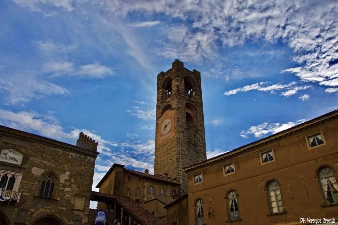 Campanone Torre Civica, Bergamo Alta (Lombardia - Italia)