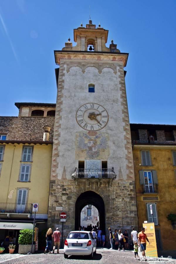 Torre dell'Orologio, Bergamo Alta (Lombardia - Italia)