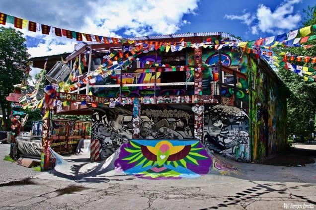 Christiania - Copenaghen, Danimarca