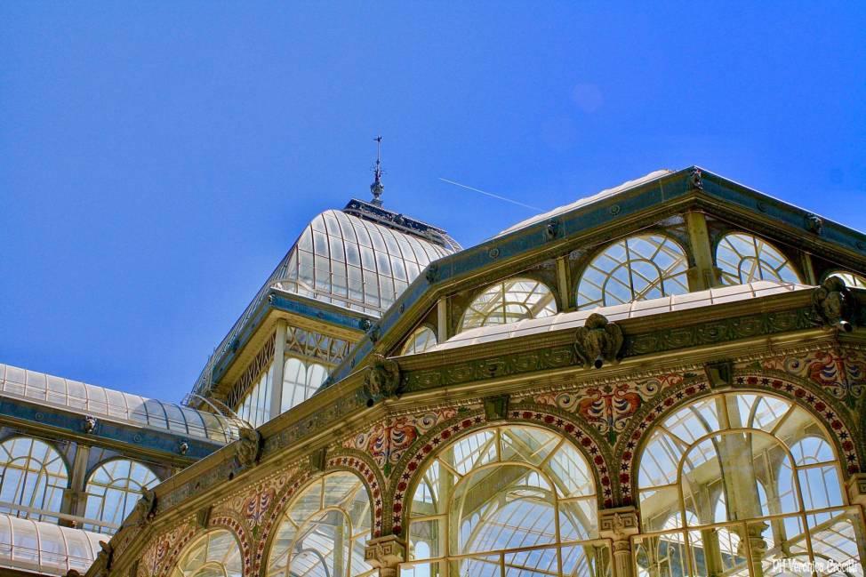 Palacio de Cristal, Parque de El ritiro - Madrid, Spagna