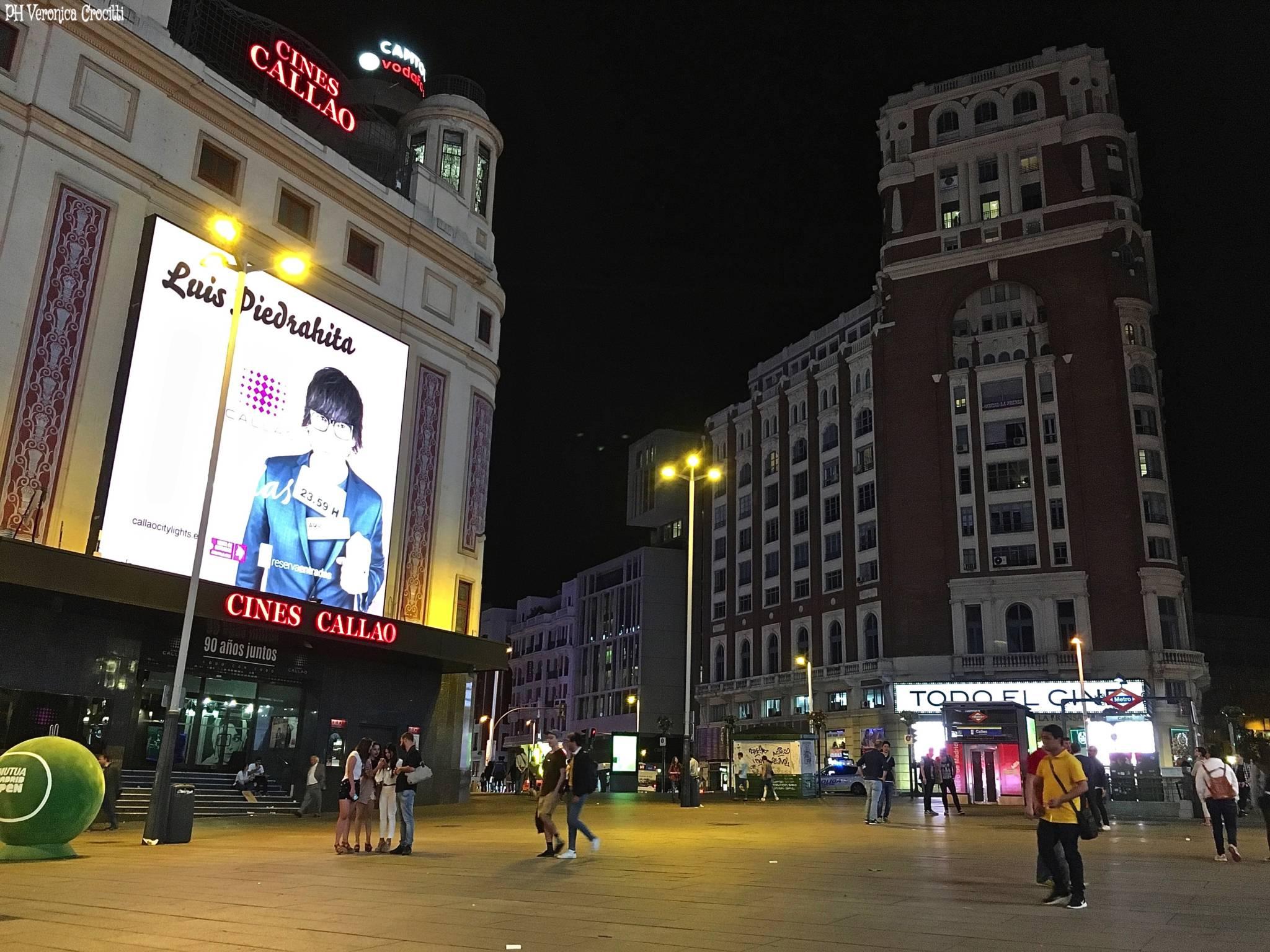 Plaza del Callao - Madrid, Spagna