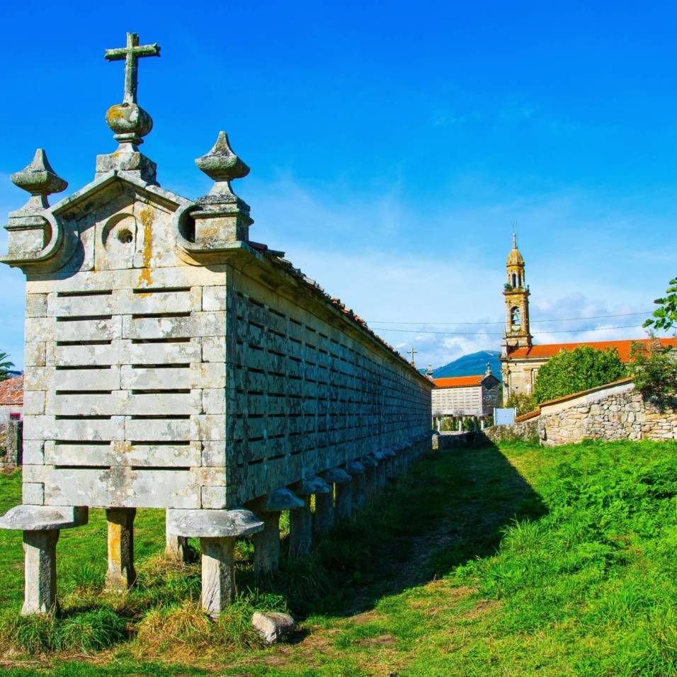 La Carnota (Horreos) - Santiago di Compostela (Spagna)