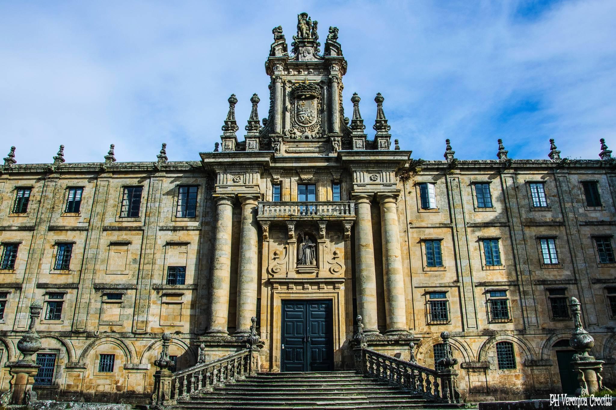 Casco histórico - Santiago di Compostela (Spagna)