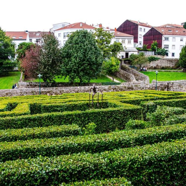 Parque de Belvís - Santiago di Compostela (Spagna)