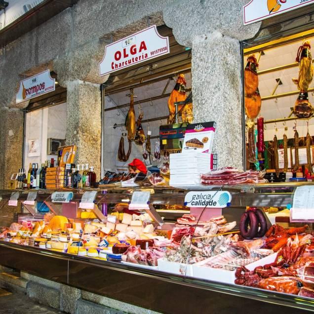 Mercado de Abastos - Santiago di Compostela (Spagna)