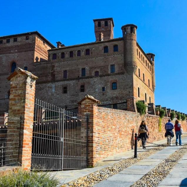 Castello di Grinzane, Cuneo (Piemonte, Italia)