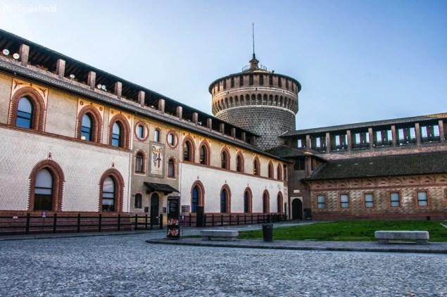 Castello Sforzesco, Milano (Italia) _3