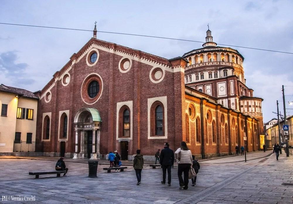 Santa Maria delle Grazie, Milano (Italia)