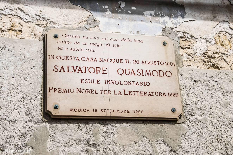 Casa Natale Salvatore Quasimodo, Modica - Terza Tappa _Sicilia in 500