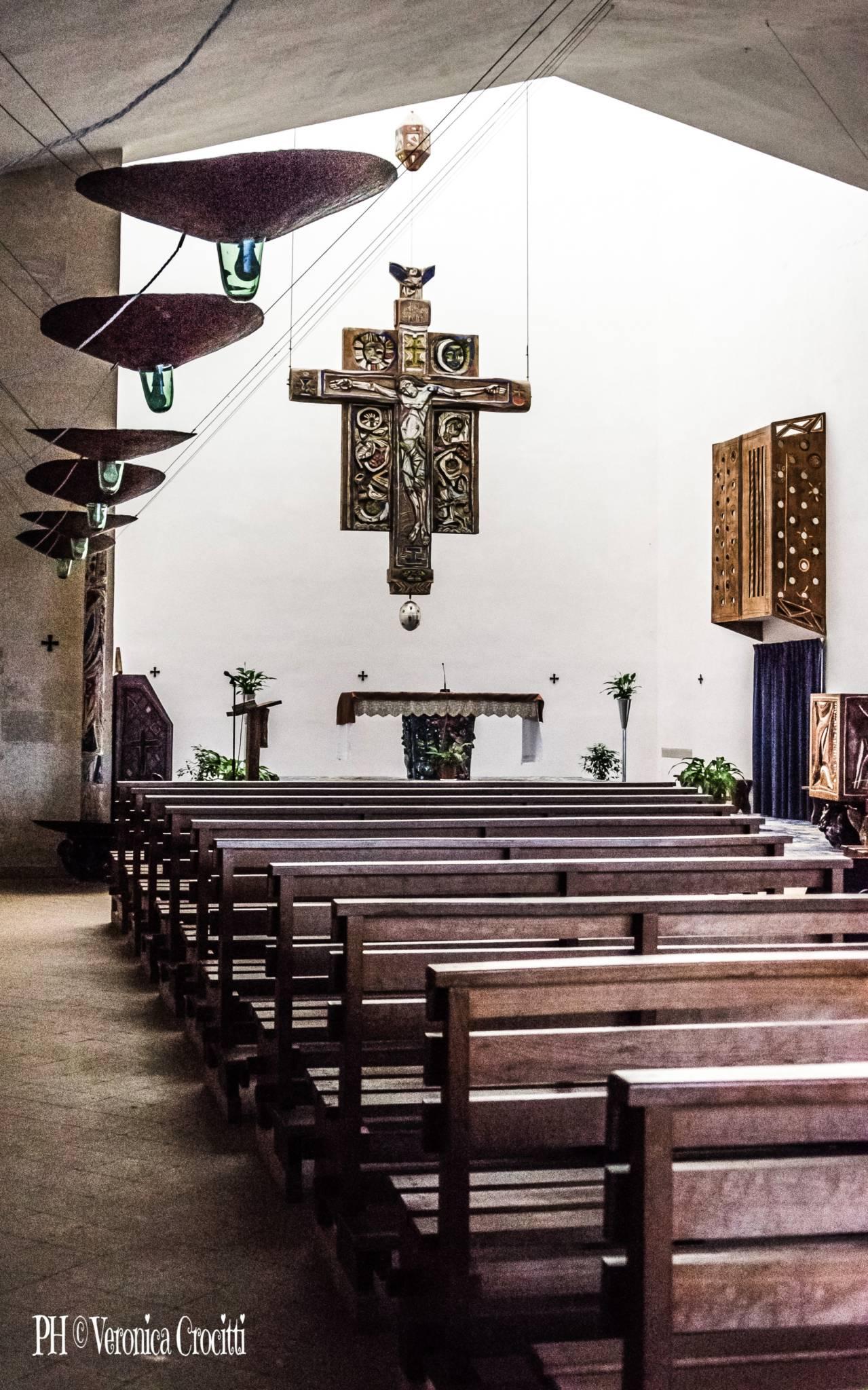 Parrocchia San Vincenzo De Paoli, La Martella. Matera, Città dei Sassi (Basilicata - Italia)