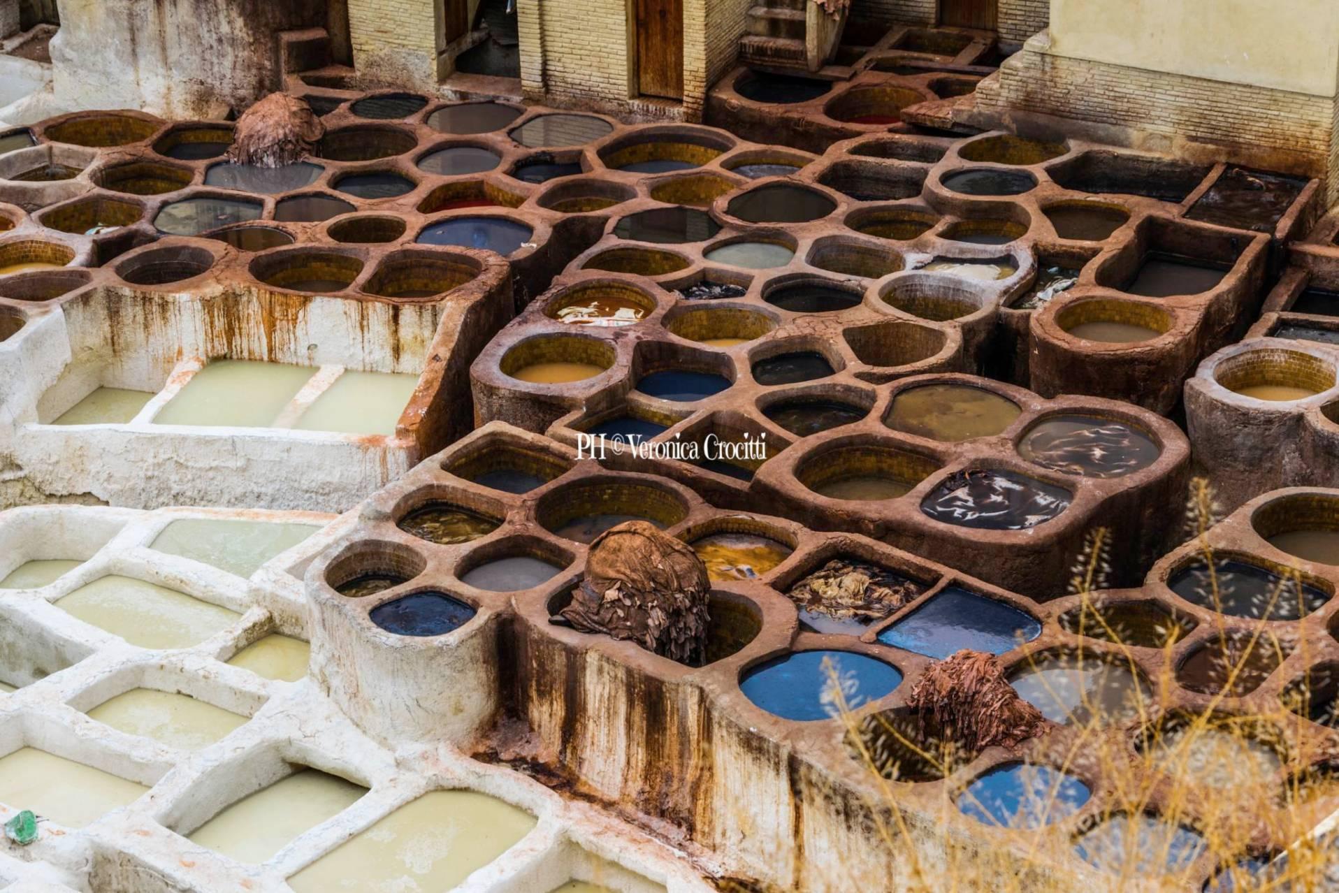Lavorazione Pelli, Fès - Marocco _2