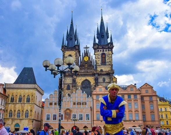 Piazza della Città Vecchia - Praga, Repubblica Ceca (Europa)