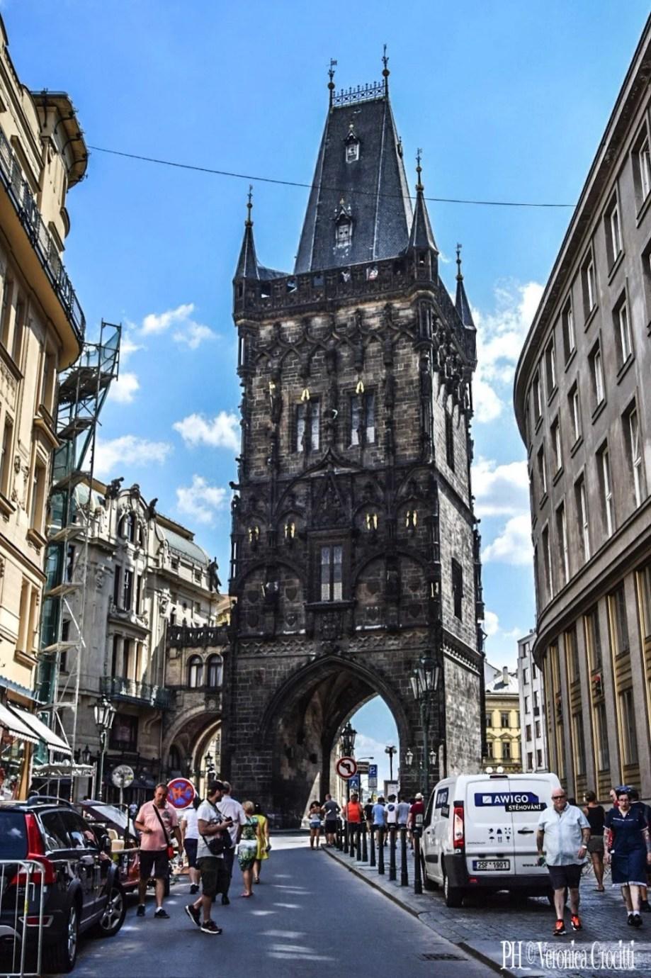 Porta delle Polveri - Praga, Repubblica Ceca (Europa)