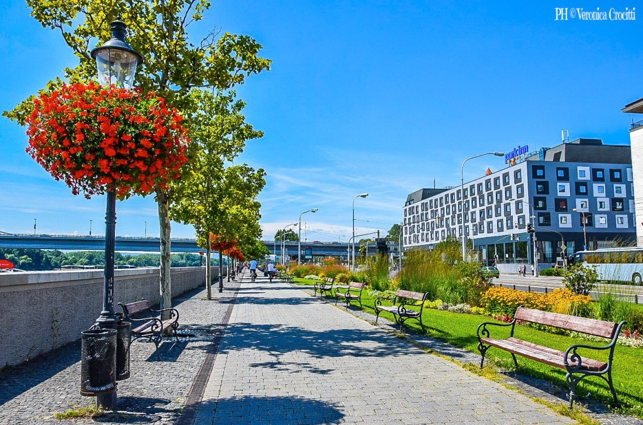 Lungo Danubio - Bratislava, Slovacchia (Europa)