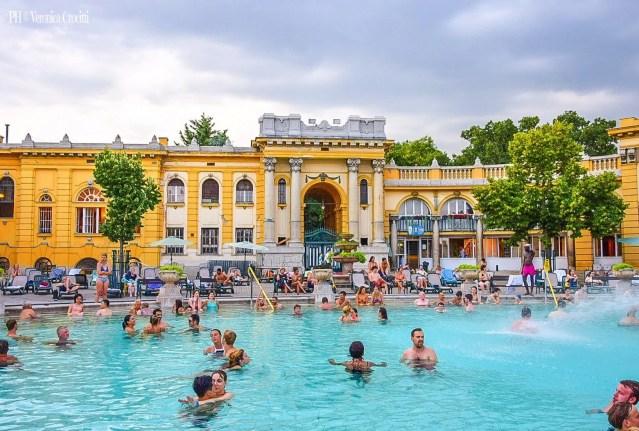 Bagni Terme Széchenyi - Budapest, Ungheria (Europa)
