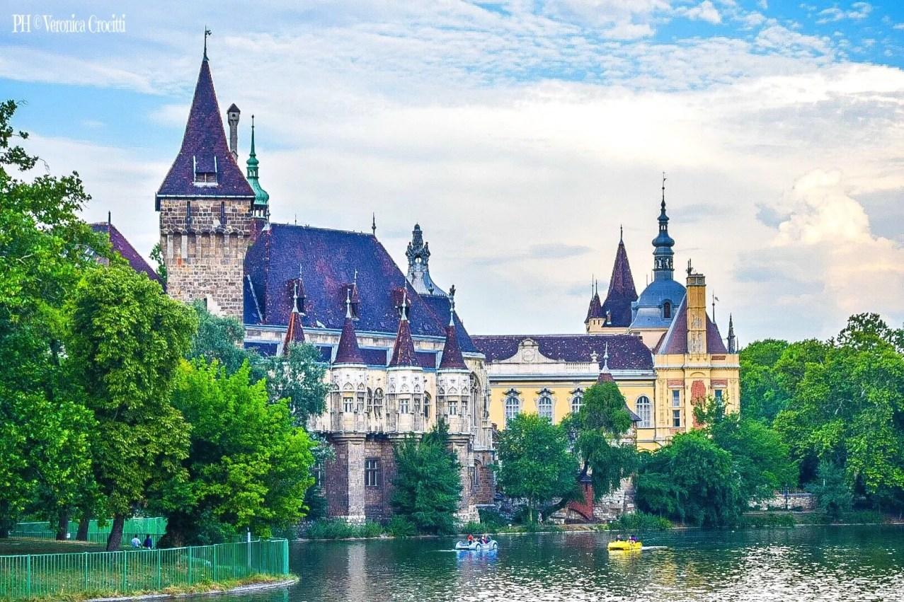 Castello Vajdahunyad - Budapest, Ungheria (Europa)