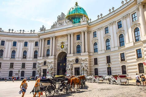 Hofburg - Vienna, Austria (Europa)