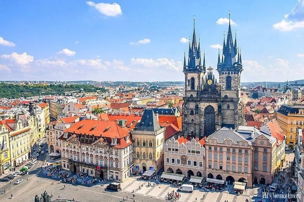 Chiesa di Santa Maria di Tyn - Praga, Repubblica Ceca (Europa)
