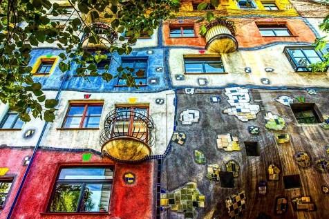 Hundertwasserhaus - Vienna, Austria (Europa)