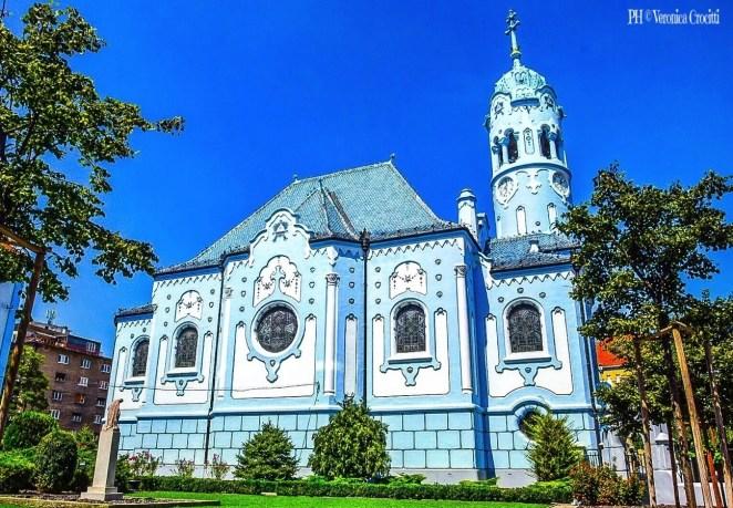Chiesa Blu - Bratislava, Slovacchia (Europa)