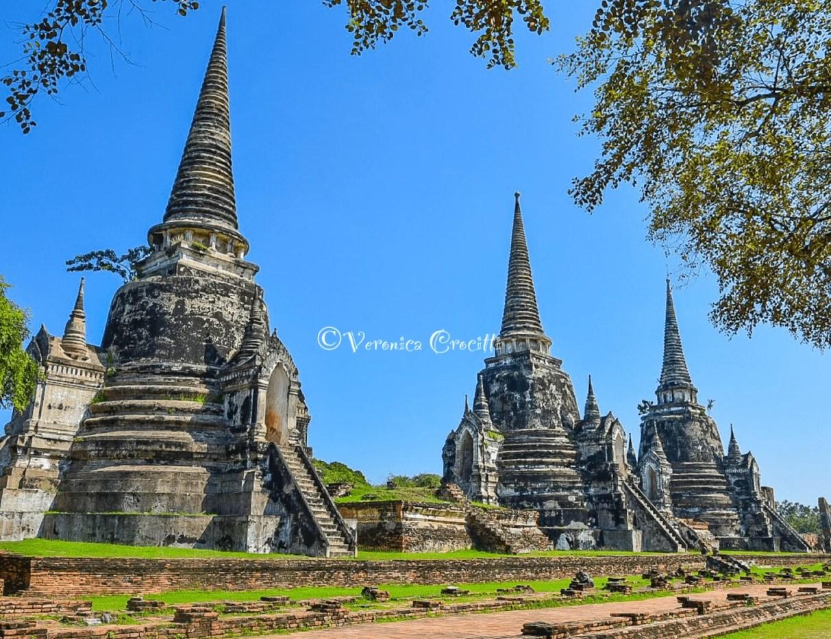 Wat Phra Si Sanphet - Ayutthaya, Thailandia