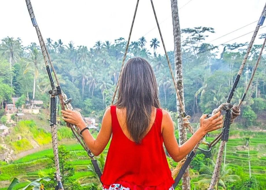 Terrazze di riso di Tegallalang - Bali, Indonesia