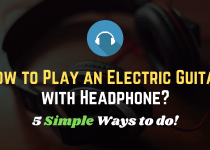 Play Electric Guitar with Headphone