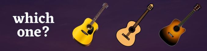 shapes of acoustic guitar
