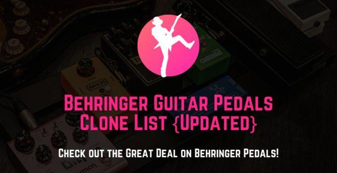 behringer guitar pedal clone