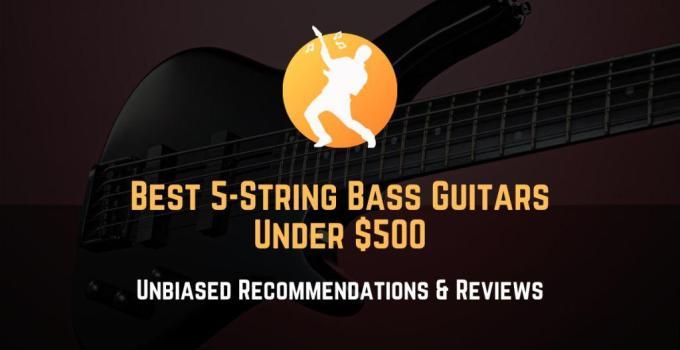 best 5-string bass guitars under 500