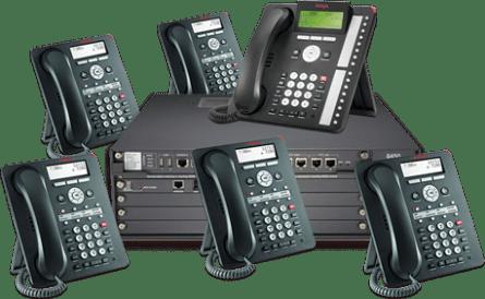 Avaya PBX and phones