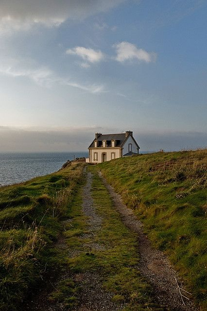 Love the seclusion of this little cottage!