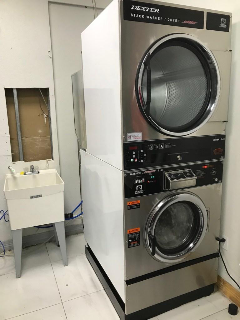 salon dexter stack | spa laundry services | salon laundry services