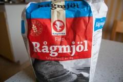 Rågmjöl = Rye flour!