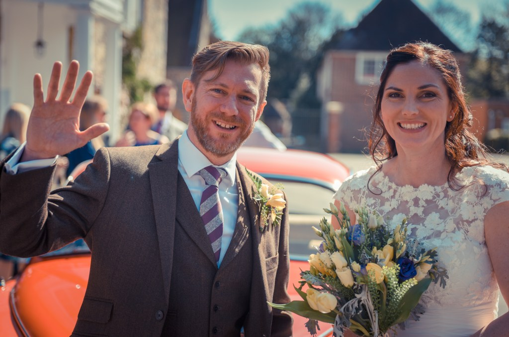 new-wedding-salisbury-couple-j-abbie-outside-happy