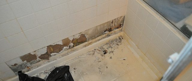 tile over drywall showers a common