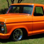 1976 Ford F100 Street Truck 2016 National Street Rod Association Street Rod Nationals South Plus Scottiedtv Coolest Cars On The Web