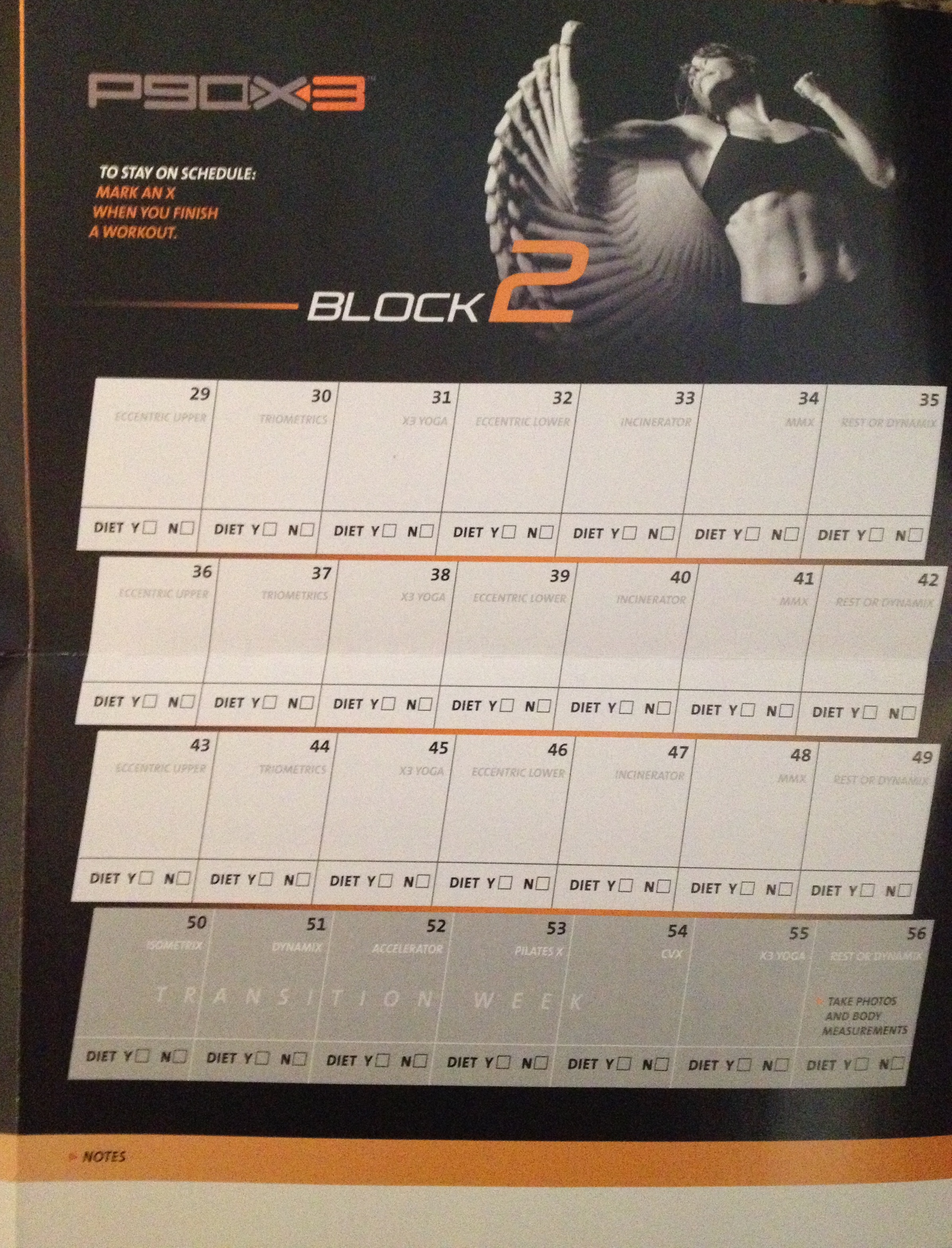 P90x3 Elite Worksheets | Printable Worksheets and Activities for