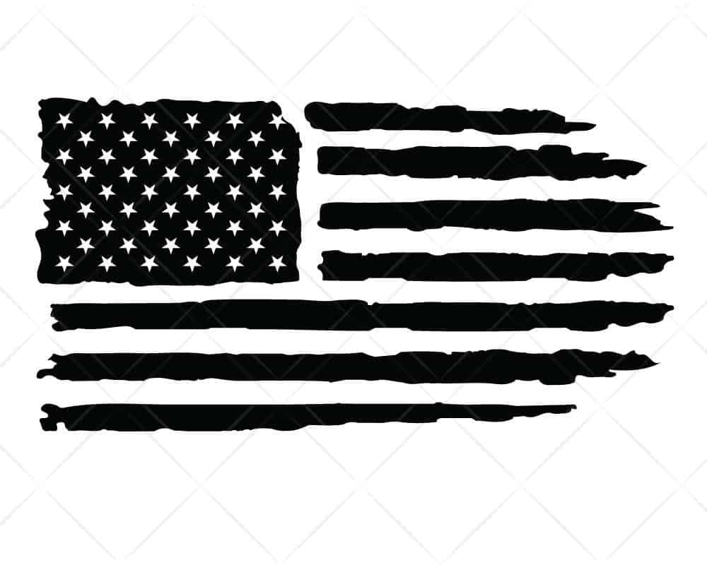 Download American Flag Distressed 2 SVG Cut Files for Cricut and ...