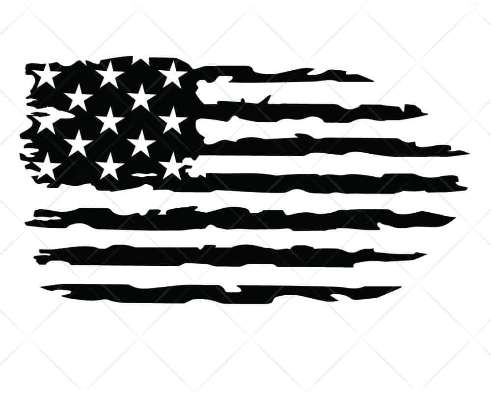 Download American Flag Distressed 4 SVG Cut Files for Cricut and ...