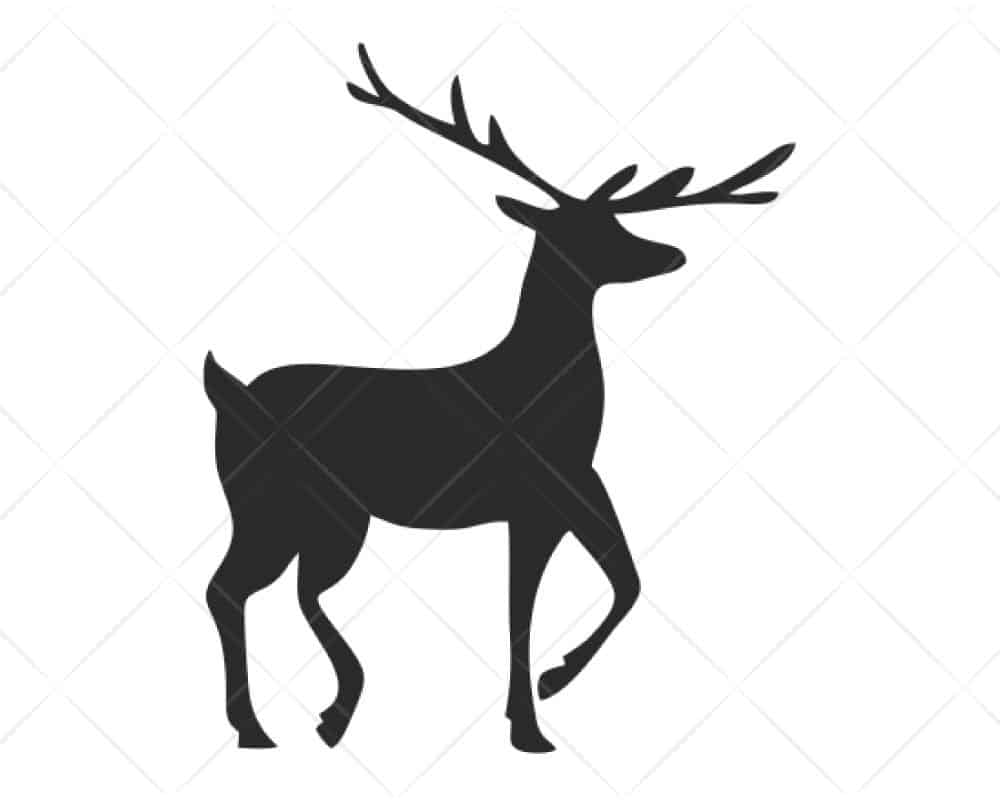Download Deer 23 SVG Cut Files for Cricut and Silhouette | Scotties ...