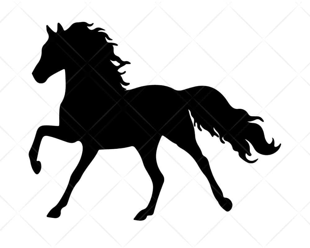 Download Horse 1 SVG Cut Files for Cricut and Silhouette | Scotties ...