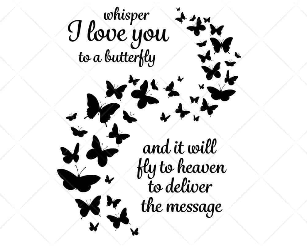 Download Your Wings Were Ready SVG Cut Files   Scotties Designs