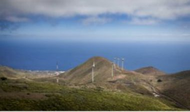 El Hierro's windmills, photo Desiree Martin./AFP