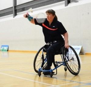 Fiona Christie, WH2 badminton player